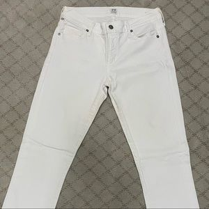 White Citizen of humanity jeans